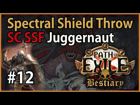 Act 3: 4-link SST vs Dominus - Marauder #12 - Let's Play Path of Exile 3.2: SC SSF Bestiary League