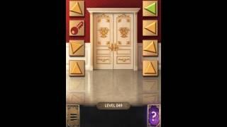 100 doors challenge level 46, 47, 48, 49, 50 как пройти уровень?