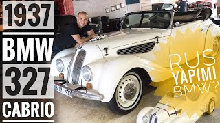 Klasik   Rus Yapımı İlk ve Tek BMW: EMW 327 Cabriolet (1937-1954) [4K]