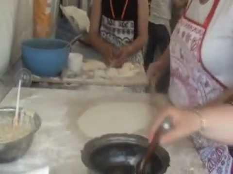 yoğurtlu ekmek tarifi  kastamonu yemekleri