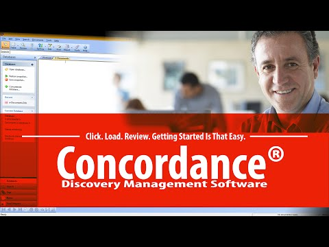 Concordance Discovery Management System