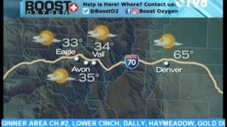 Boost Oxygen Weather 01.31.17 7:18AM Good Morning Vail