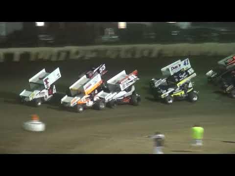 7th Annual Bill Waite Jr. Memorial Classic IRA/MOWA 410 Sprint Heats 1-2 LaSalle Speedway 9/24/17