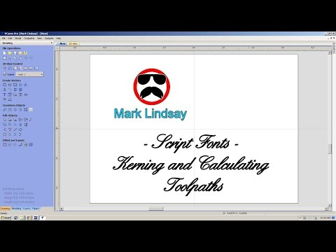 Script Fonts Part 2 – Kerning And Calculating Toolpaths