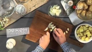 Картофельно-грибной крем-суп