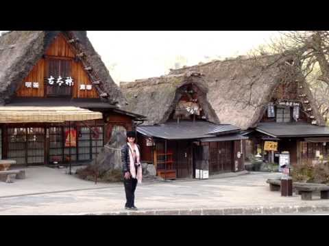 Japan Alps, Gassho Villages and Gardens.- with JR Pass.