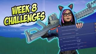 Fortnite - Week 8 Leaked Challenges + Guide (Season 8) - Fortnite Battle Royale