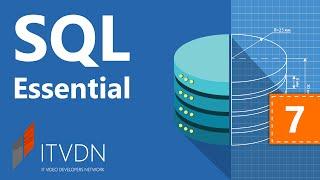 Видеокурс по SQL Essential. Урок 7. Индексирование