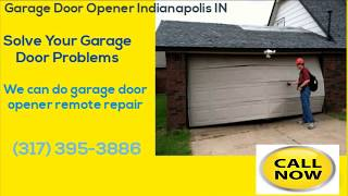 Garage Door Opener Indianapolis| (317) 395-3886 | Garage Door Opener Indianapolis