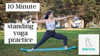 Standing Yoga Practice (10 minutes)