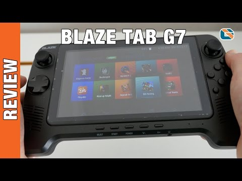 Blaze Tab G7 Retro Gaming Console Review