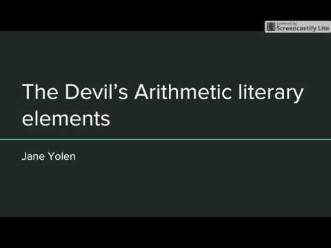 """The Devil's Arithmetic"" Chapter 1"