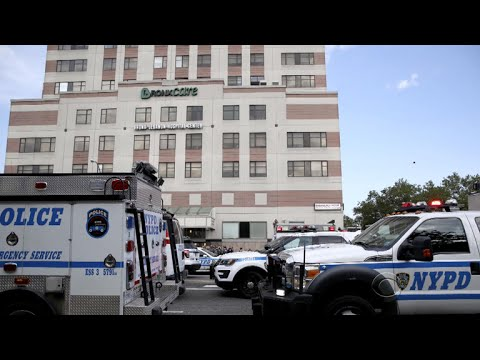 Gunman opens fire in New York City hospital