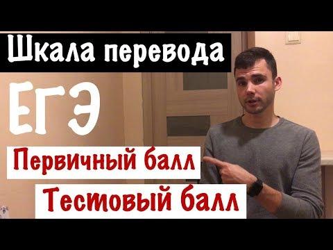 Как перевести первичные баллы во вторичные по русскому