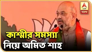 Kashmir issue unresolved because of Nehru: Amit Shah | ABP Ananda