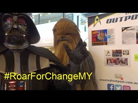 Flying with Solo Roar for Change Malaysia charity fundraising #RoarForChangeMY