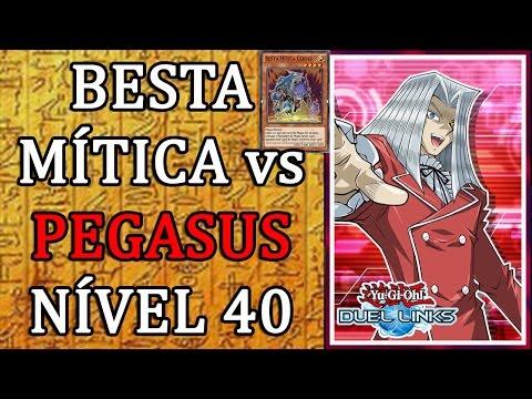 Besta Mítica Cérbero vs Pegasus NÍVEL 40 - Yu-Gi-Oh! Duel Links