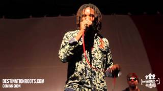 Kabaka Pyramid Performs New Song @ Edna Manley College (April 2013)