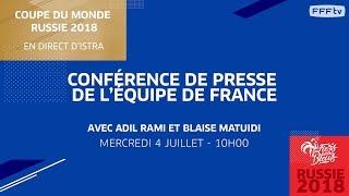 Équipe de France : le point presse de Rami et Matuidi en replay
