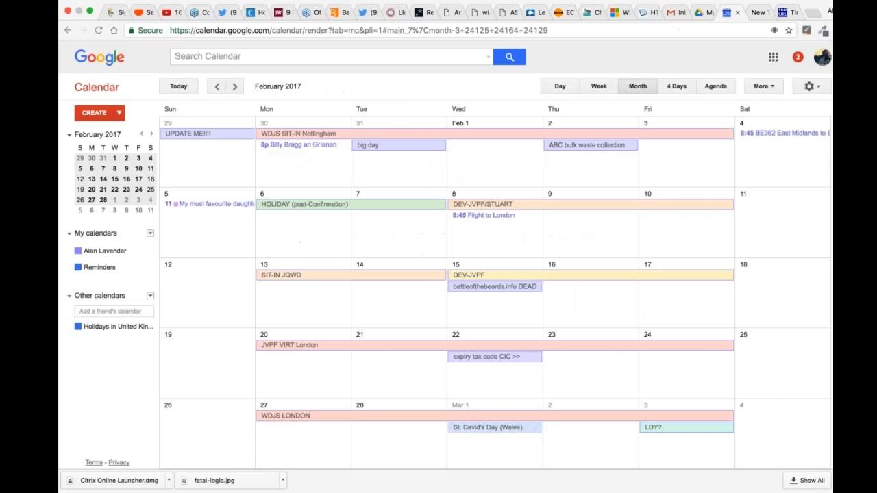 Event Calendar Js : Js calendars the long way youtube