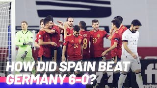The reason why Spain ANNIHILATED Germany 6-0 | Oh My Goal