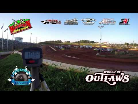 Speed Radar Qualifying - World of Outlaws Super Late Model - 5-13-17 Smoky Mountain Speedway