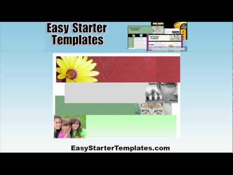 Simple, Customizable HTML / CSS Templates