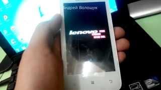 как прошить lenovo a390 + ссылка / How to flash lenovo a390 + link