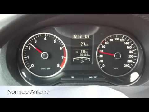 VW Polo 1.4 mit 7-Gang DSG (Anfahrt mit DSG) Review
