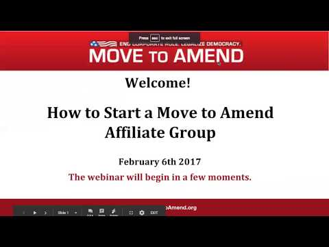 Take Action Webinar: How To Start an Affiliate (February 2018)