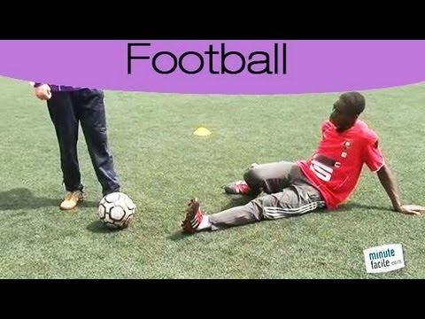 Avoir les bons gestes au tacle en football