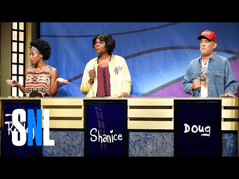 Black Jeopardy with Tom Hanks  SNL