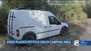 Florida travel bloggers video places Gabby Petito's van in camp area where authorities recovered bod