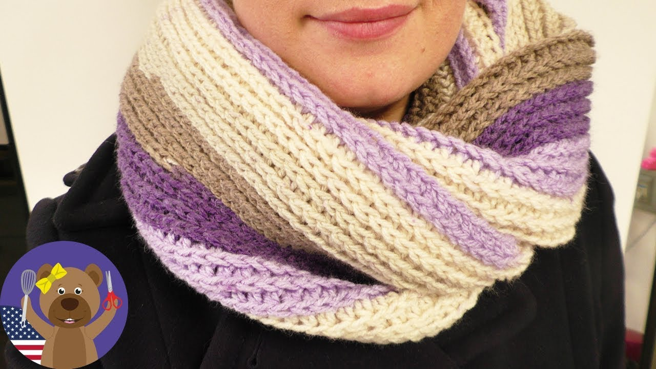 Knitted Effect, Still Crocheting! Caron Cake Wool | Scarves for Beginners