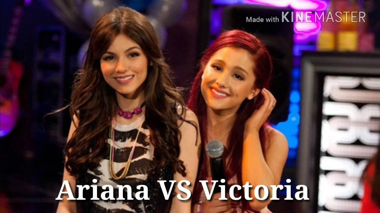 Ariana Grande VS Victoria Justice