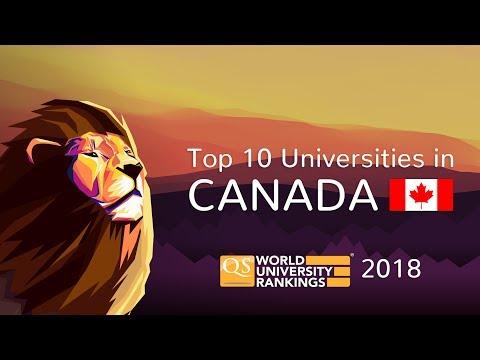 The Top 10 Universities in Canada 2018