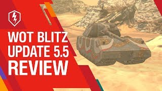 WoT Blitz. Update 5.5 Review thumbnail