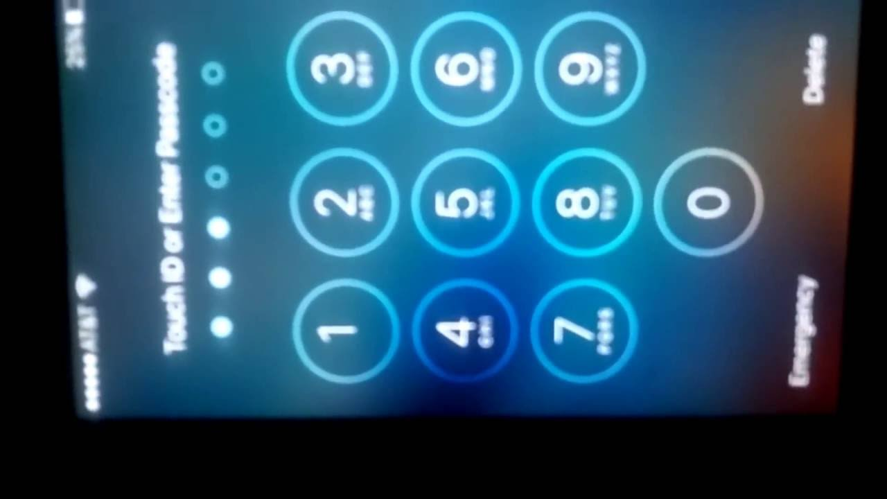 Cara mengatasi Lupa pasword (passcode iphone) - YouTube