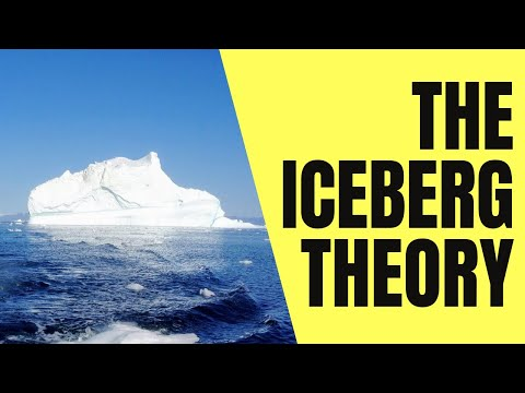 "The ""Iceberg Theory"""
