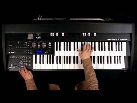 "Organ performance along with Music Style of ""Modern Medium Swing"""