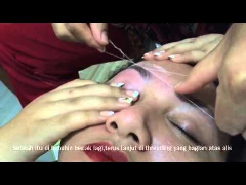 Before After Eyebrow Threading | Threading Alis Narsih Salon