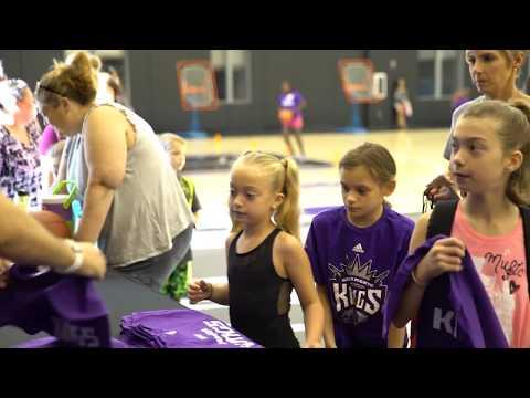 Sacramento Kings conduct Junior Kings & Kings Dancers Clinic