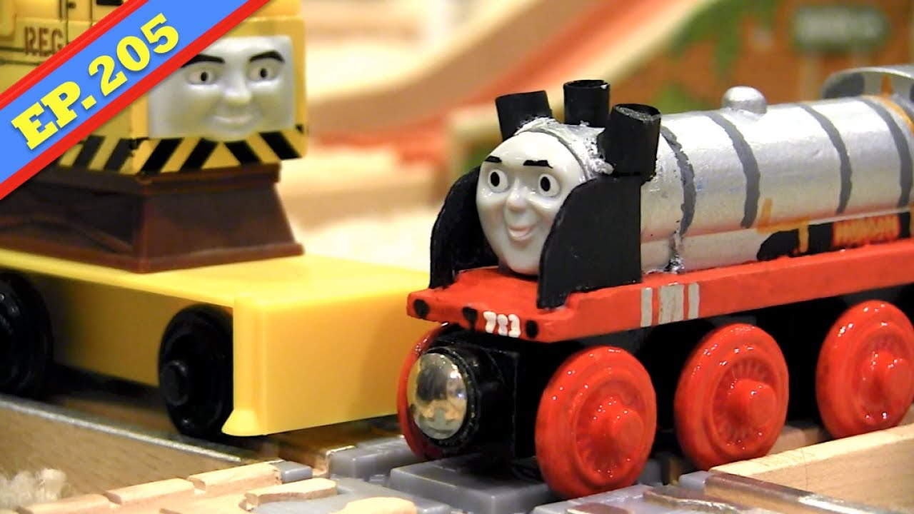 Merlin The Magical Engine Thomas Friends Wooden Railway Adventures Episode 205
