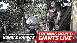 Mateusz Kieliszkowski x Konrad Karwat - ostatni trening przed Giants Live