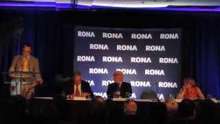 RONA - Assemblée générale des actionnaires - 13-05-2014(Courte vidéo tournée lors de la présentation des informations financières par le chef de l'activité financière, Dominique Boies, en présence du président du ..., 2014-05-14T18:06:18.000Z)