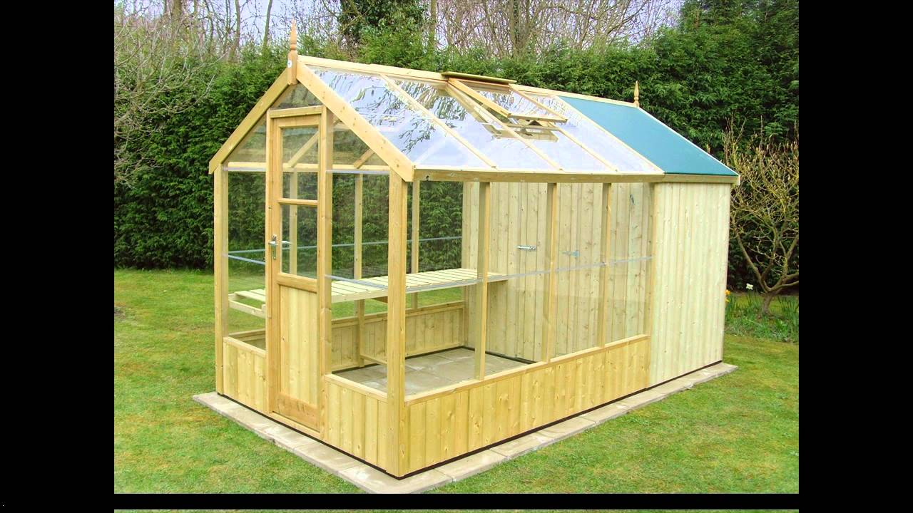 Greenhouse shed plans youtube Green house sheds