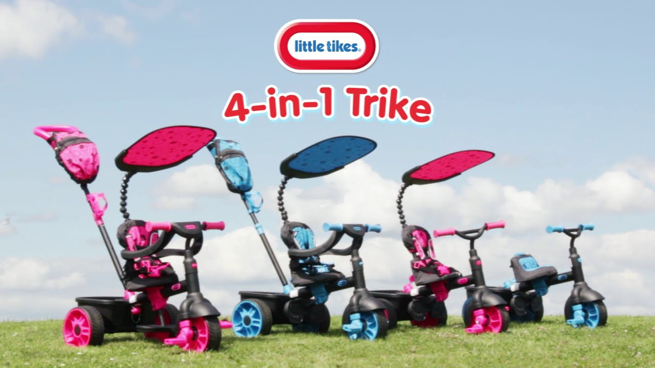Little tikes 4-in-1 trike sports edition review | what's good to do.