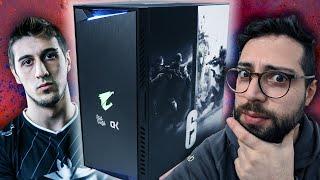 Analizando el PC para un Pro de Esports - El PC de Rainbow Six de Goga