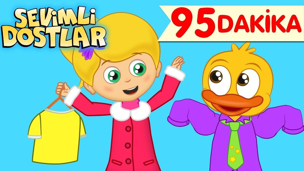 Download Giy Giy Giyinelim ve Sevimli Dostlar ile 95 Dakika Çizgi Film Bebek Şarkıları