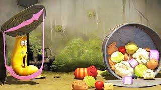 LARVA - FOOD FRENZY | Cartoon Movie | Cartoons For Children | Larva Cartoon | LARVA Official